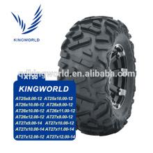 Populaire dans le marché du Pakistan 27 x 12-12 choix de qualité de pneu d'ATV