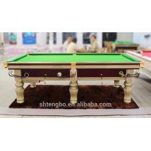 popular professional American style billard table NEWYORK with shuffleboard