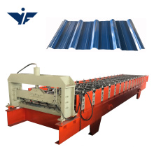 Building material used factory price metal sheet roof panel roll forming machine