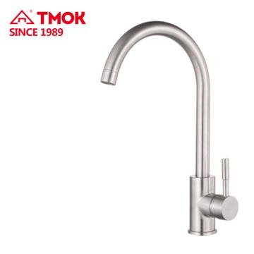 SUS 304 matériel Chine robinet sanitaire de haute qualité en laiton robinet de cuisine robinets d'eau de lavage dn15