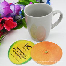 OEM Wholsale Absorbent Paper Coaster Cup Mat for Catuaba Drink