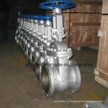 Uso industrial Aço de carbono fundido Wcb Flange End Valve