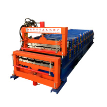 dupla camada rolo dá forma à máquina / o equipamento para a fabricação de telhas de telha de metal que faz a máquina