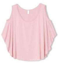 OEM 100% Cotton Plus Size Women Cami Plain Crop Top