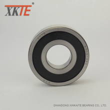 Ball Bearing For Conveyor Mining UHMWPE Idler Roller
