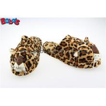 Sapatos Masculinos Plush Stuffed Leopard Microondas Flaxseed and Lavender Slipper