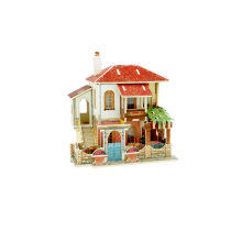 Wood Collectibles Toy for Global Houses-Turkey Villa