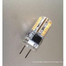 2015 new hot sale 2W 3W AC 12V 220V crystal silica gel g4 led light bulb