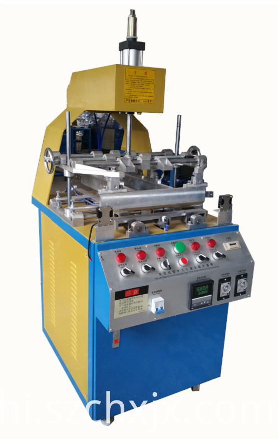 Semi-auto plastic blister edge folding machine