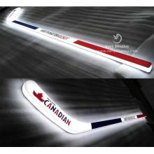 Signo de luz de palo de hockey