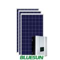 5000w sistema solar híbrido kit de energía solar 5kw fuera de la red sistema de iluminación del hogar precio generador de 5000 vatios sistema híbrido solar
