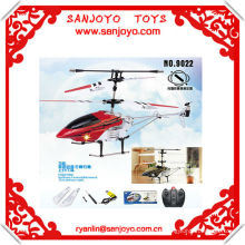 9022 rc helicóptero 3CH aleación marco w / HOT ROJO helicóptero de turbina de aspecto !!