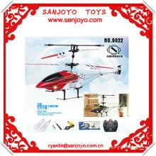 9022 rc hélicoptère 3CH alliage cadre w / ROUGE ROUGE hélicoptère de l'aspect de la turbine rc !!
