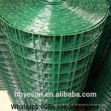 Anping fabricante la mejor calidad jardín decorativo vallado soldado malla de alambre de hierro 50x50