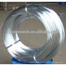 Faible prix d'usine, fil de fer galvanisé