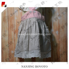 wholesale girl birthday outfits natural fabricdress