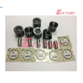 D6E rebuild kit piston ring liner gasket bearing