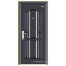 Commercial Single Design Pop in Thailand special security steel door KKD-564A With Powder Coating
