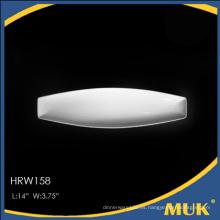 Eurohome producto de alta calidad placa de porcelana blanca para el hotel