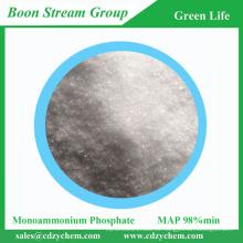 Bester Preis Hochwertiger gereinigter Prozess Feuerbeständiger Wirkstoff 98% min-tech-Grad-Monoammoniumphosphat