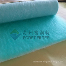 FORST Green- white Color Synthetic Filter Material Fiberglass Paint Filter