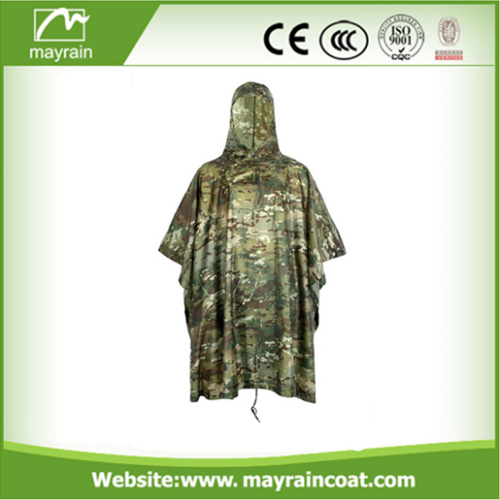 PVC Coated Military Poncho