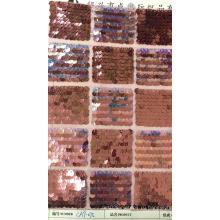 квадратная сетка с пайетками сетка для вышивки ткань