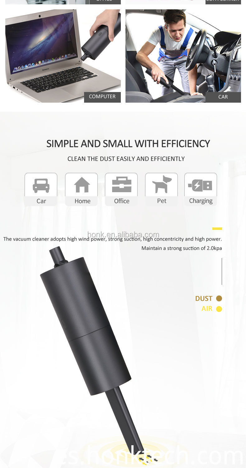 portable handheld mini vacuum cleaner computer keyboard cleaning usb rechargeable wet and dry air blower desktop car sofa bed