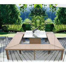 Patio Wicker Luxury Bar Set Furniture