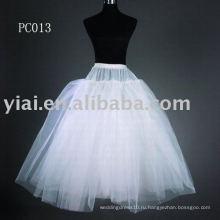 Стиль принцессы платье юбки 2013 PC013 для новобрачных