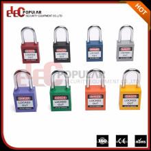 Elecpopular 38mm benutzerdefinierte Sicherheit Plastic Electrical Vorhängeschloss