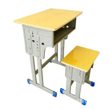 School Desk/Chair Fixed Student Chair and Desk Set Environment-friendly PE/PP Classroom Furniture