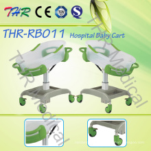 Adjustable Hospital ABS Baby Cot
