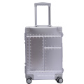 Patent design aluminum luggage with TSA Lock in 26 inch