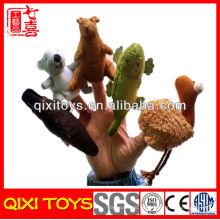 Juguetes de marioneta de felpa de animales populares de Australia para niños educativos