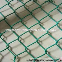 Valla de cadena de cadena de plástico de Puersen