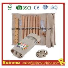 Eco Stationery Set mit Federkasten und Lineal