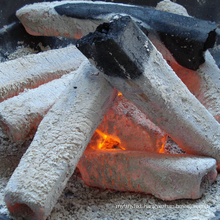 Burning 4-6 Hours ECO Friendly Sawdust Briquette Charcoal BBQ Use