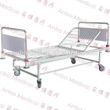 Cama de hospital removible de la cabeza y del pie