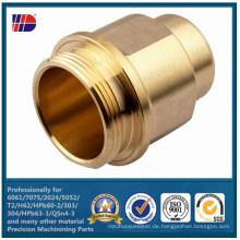 Benutzerdefinierte Bearbeitung CNC Metall Messing Drehteile
