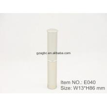 Slender & Элегантная алюминиевая ручка-образный помады трубка E040, Кубок Размер 8,5 мм, цвета