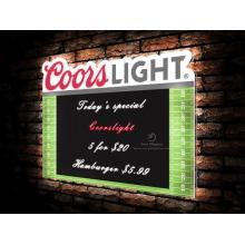 Coorslight segno barra luminosa