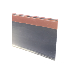 paste type plastic label holder/price strip/data strip