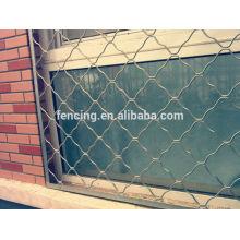Cerca anti-roubo Meg, redes usadas para proteger cães ou janelas
