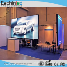 Super Thin Efficiency illuminated Window RGB Glass Video LED Display Screen