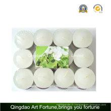 12g bougie parfumée Tealight pour la promotion de cadeaux