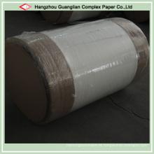 Dois rolos revestidos do papel do cozimento do silicone de Sides Jumbo da fábrica