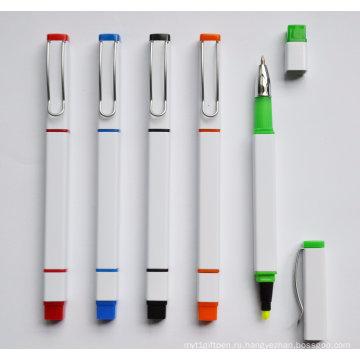 2 в 1 Промотирования Шариковая ручка с маркер Htf069