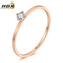 Fashion Jewelry Rings Stainless Steel Diamond Ladies Ring (hdx1151)