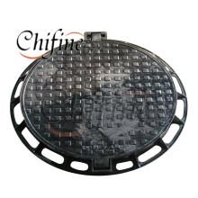 En124 Ductile Iron Casting Manhole with Sand Cast Process